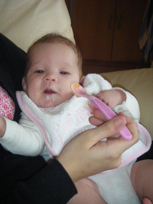 La 1ere panade de ma petite puce   (Le 19-12-2010)