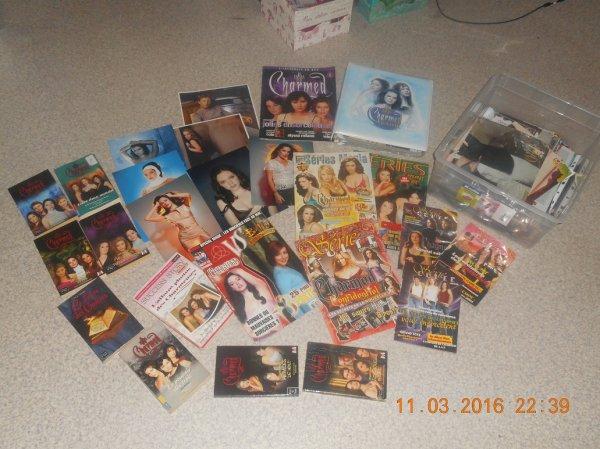 collection magazine, poster, livre et classeur sur Charmed