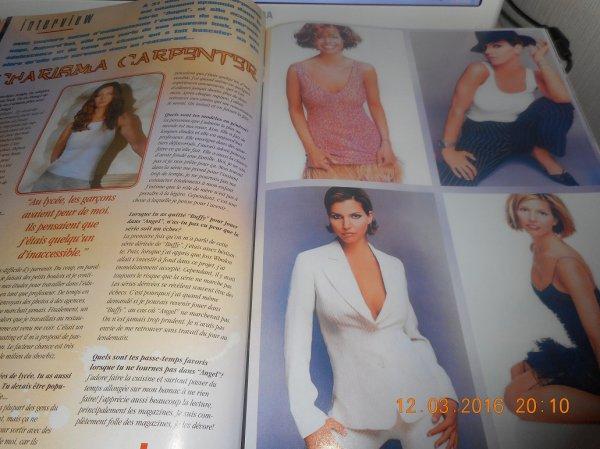 quelque photos du magazine série mag hors série de la série Angel