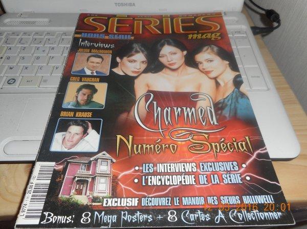 quelque photos du magazine série mag hors série de la série Charmed