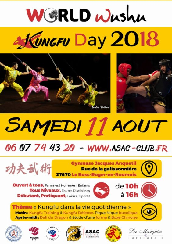 ? World ?⚔️Wushu-Kungfu?? Day 2018