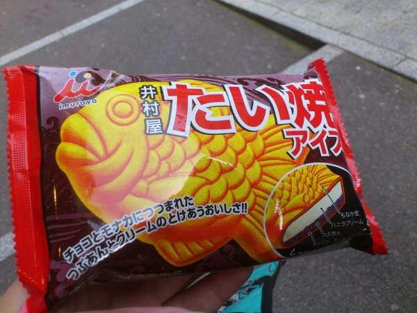 Taiyaki icecream