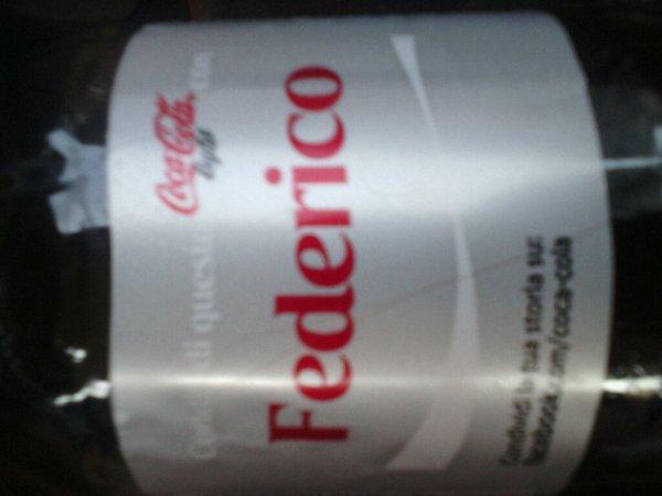 Federico en bouteille ! ; )