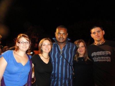 Elodie, Julia, Tino, Chris et moi