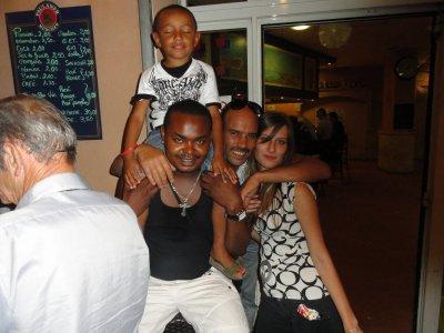 Tino, Dris et moi