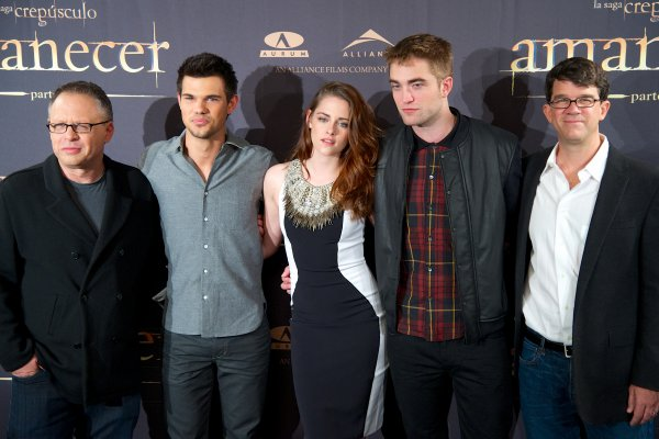Photocall Breaking Dawn 2ème partie: Madrid