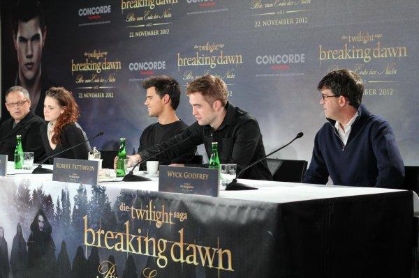 Conférence de presse à Berlin