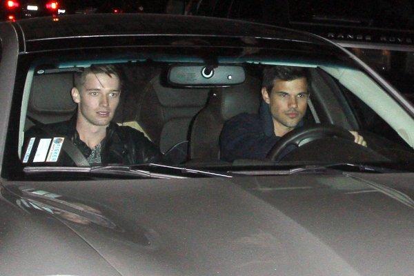 Arrivée de Taylor au Pré-Oscar 22 Février 2013