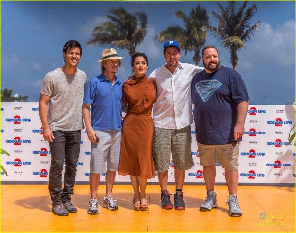 Photocall Grown Ups 2 à Cancun 18 Avril 2013