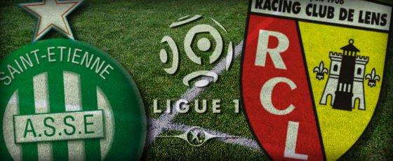 St Etienne - Lens (3-1), match terminé