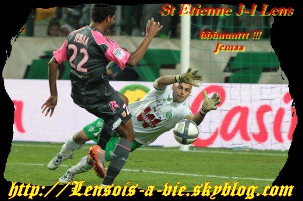 St Etienne - Lens : réactions