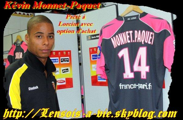 K. Monnet-Paquet du RC Lens à Lorient