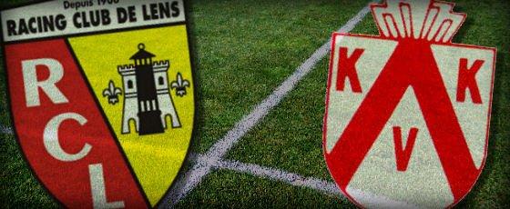 Lens - Courtrai (1-3), match terminé