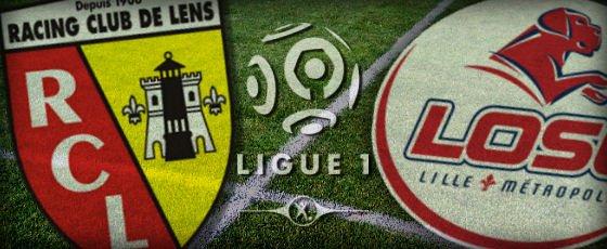 Lens - Lille (1-4), match terminé