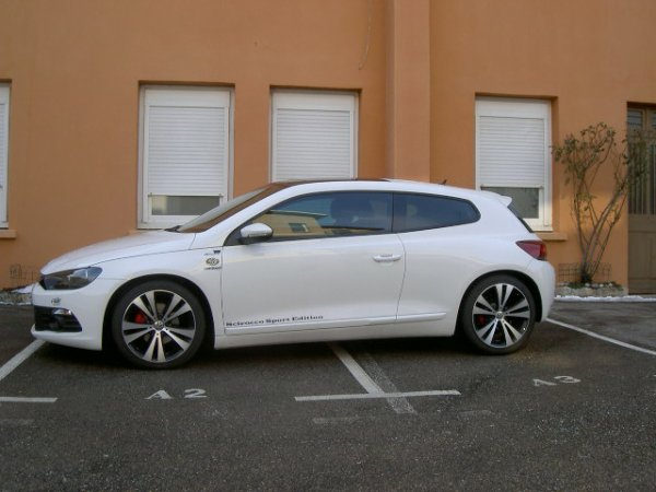 news voiture vw scirocco 2l tdi ;)