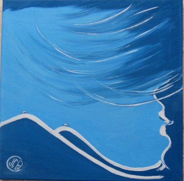 Les monts bleu