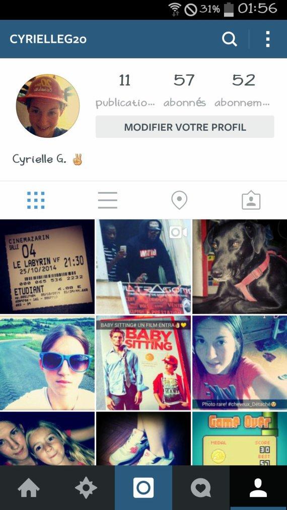 Pour mes fan ? Suivez moi sur instagram