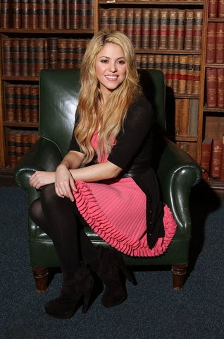 "Shakira à l'université de "" OXFORD """