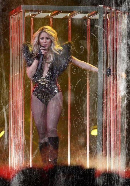 Shakira ,reine des shows
