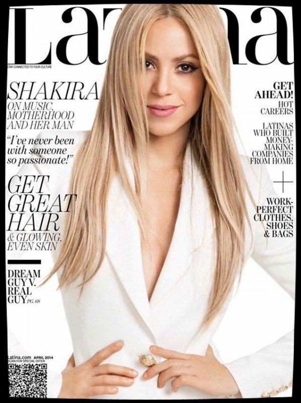 Shakira Cover girl des magazines