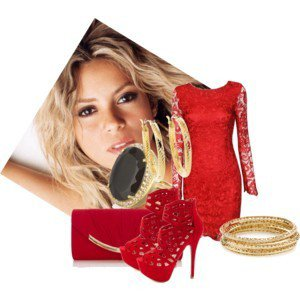 Ces objets rendent Shakira pulpeuse , non ???
