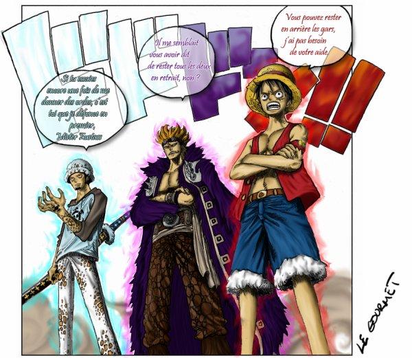 Les 3 Capitaines s'embrouilles ^^'