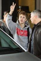 Un Justin Bieber... moustachu?