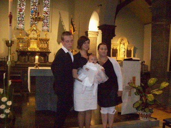 Ô baptême de ma filleule