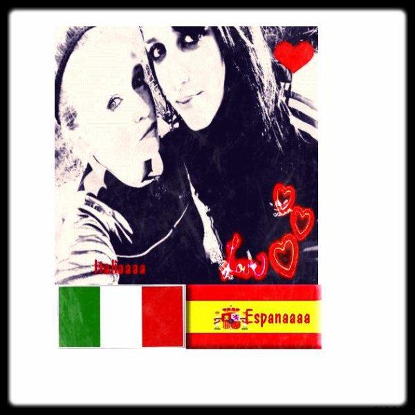 Italiaaaaa Pour elle ♥ Espagnaaa Pouur Moi ♥