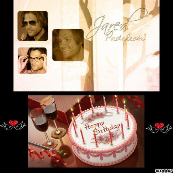 Happy Birthday Jared Il y a  31 ans aujourd hui hihihihihihihhihihihihi