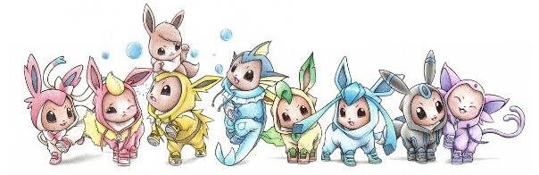 Vient jouer avec Evoli et ses amis