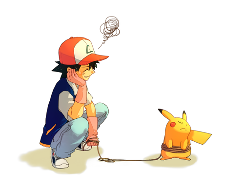 Galerie Pikachu et Sacha