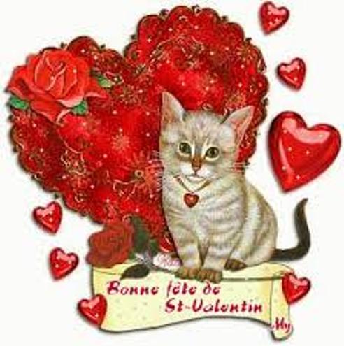 Salut les Amis, je vous souhaite a tous une bonne fête de St. Valentin !