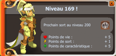 Up 169 !