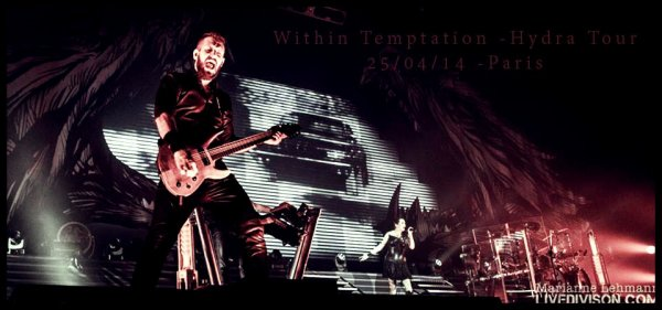 #Concert #Within Temptation #Hydra Tour #Zenith Paris #Amazing !