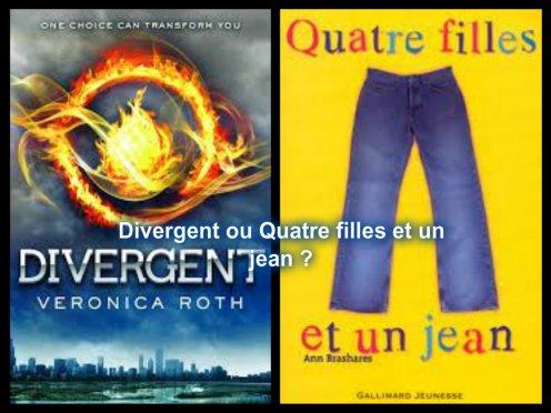 Divergent ou Quatre filles et un jean ?