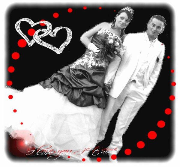 mariage de dmc et melissa