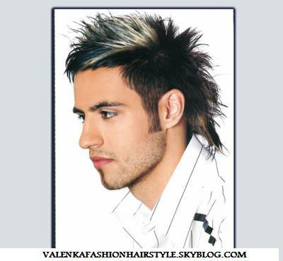 Favorit COUPE HOMME AVC MECHE BLOND PLATINE - Blog de valenkafashionhairstyle JA06