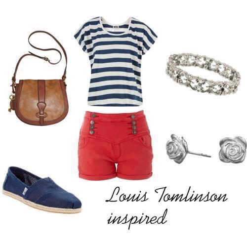 Louis' look :)