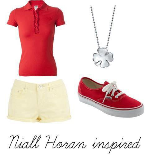 Niall's look !