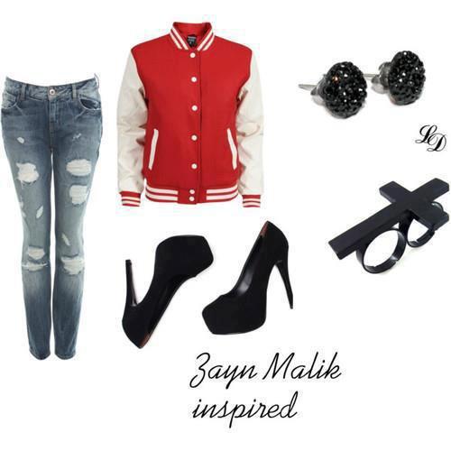 Zayn's look :D