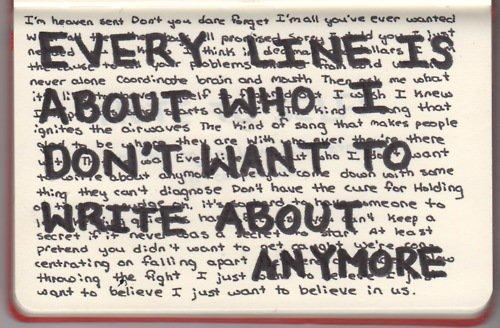 """""""Omdat het schrijven niet alleen ontsnapping mogelijk maakt, maar evengoed een nog scherper bewustzijn meebrengt van het tekort"""""""