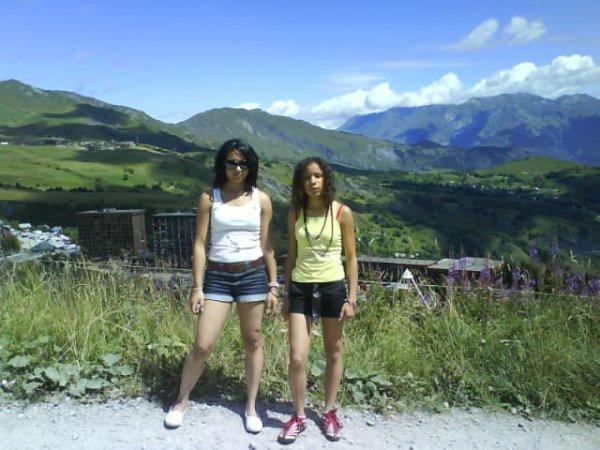 Ma soeur Melissa et moi