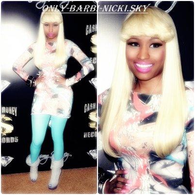 Nicki Minaj présente au Pré GRAMMY AWARDS & Sur le tapis rouge ! Donne Ton Avis!