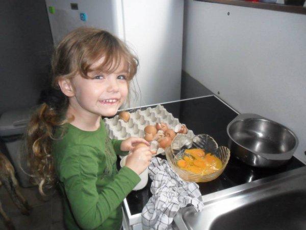 Ma nièce Katalina bien changée hein
