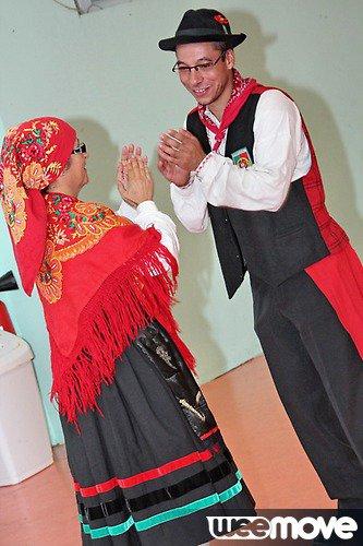 Présentation des danseurs