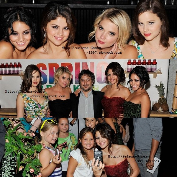 Article N° 17: Selena Gomez et Vanessa !