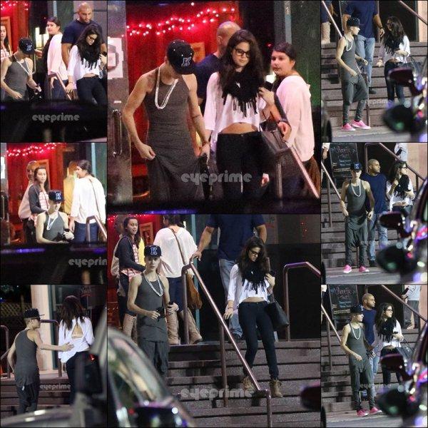 Le 16.11.2012: Selena et Justin re ? On les a vu au restaurant yamato !