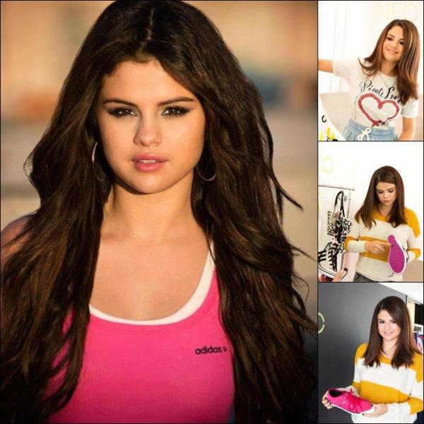 Le 20 . 11 . 2012 Selena Pose pour UNO Adidas ! Magnifique! ...