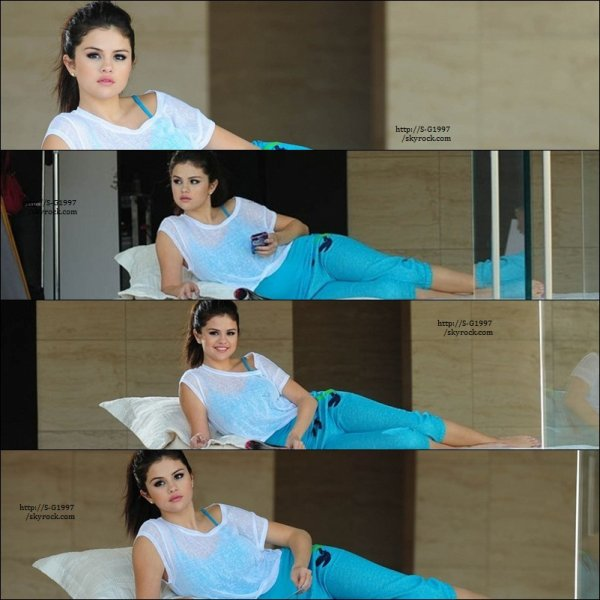 Le 27 . Nov . 2012 : Selena Au uncicef + Photoshoot !